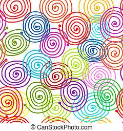 padrão redemoinho, projeto abstrato, seu