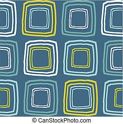 padrão, retro, seamless