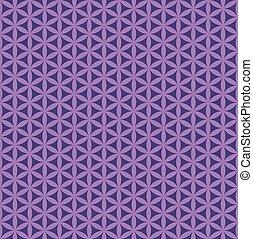 padrão, roxo, seamless, abstratos, flor
