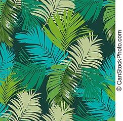 padrão, seamless, foliage