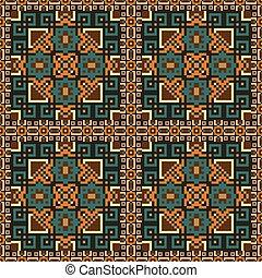 padrão, seamless, fundo, étnico