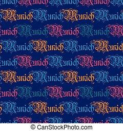 padrão, seamless, munich
