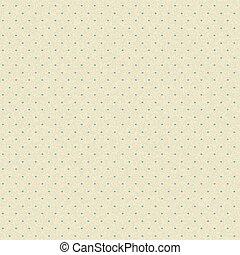 padrão, seamless, ponto