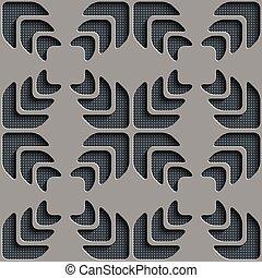 padrão, seamless, snowflake