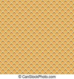 padrão, seamless, textura, waffel