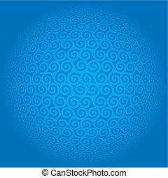 padrão, seamless, triskeles, -