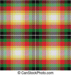 padrão, tartan, seamless, vetorial, escocês