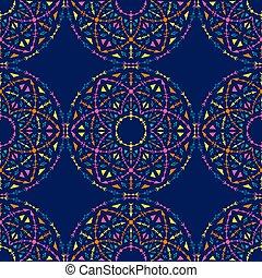 padrão, tribal, pattern., cores, seamless, boho, luminoso, étnico, ornaments., geométrico