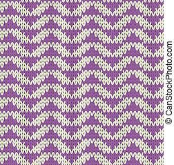 padrão, tricote