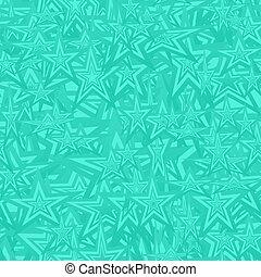 padrão, turquesa, estrela, seamless, fundo