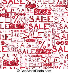 padrão, venda, fundo, seamless