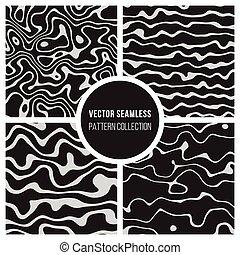 padrão, vetorial, seamless, cobrança