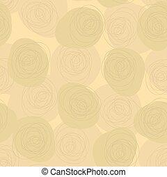 padrão, vetorial, seamless, fundo