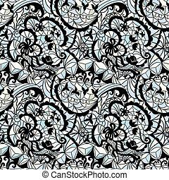 padrão, vetorial, seamless, mosaico