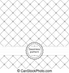 padrão, vetorial, seamless