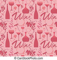 padrão, vinho tinto