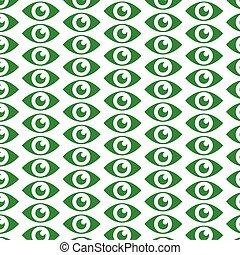padrão, vista, fundo, ícone