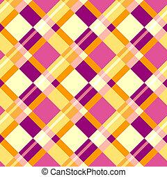 padrão, xadrez, seamless