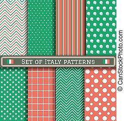 padrões, jogo, italia