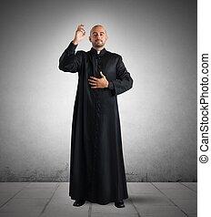 padre, bênção