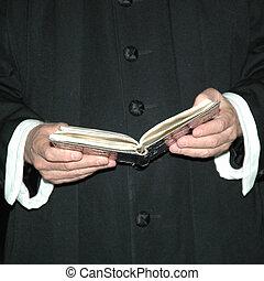 padre, e, bíblia