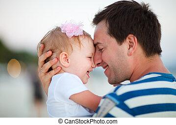 padre, figlia