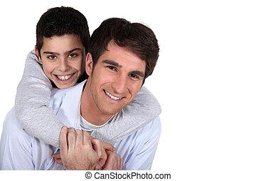padre, figlio
