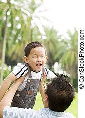 padre & niño