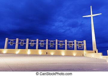 Padre Pio Pilgrimage Church. San Giovanni Rotondo, Apulia, Italy.