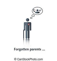 padres, olvidado