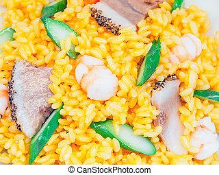 paella, typical spanish food