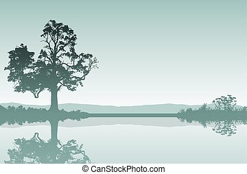 paesaggio albero