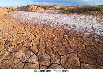 paesaggio arido