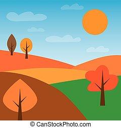 paesaggio autunno