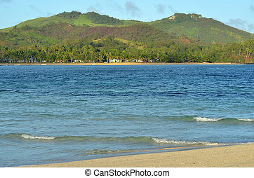 paesaggio, di, il, yasawa, isole, figi