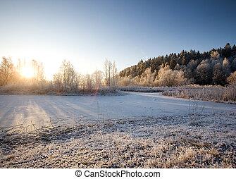 paesaggio inverno