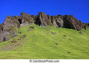 paesaggio., islandese