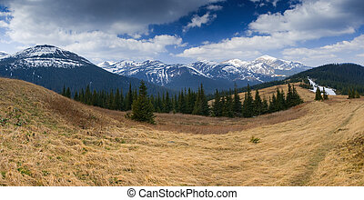 paesaggio montagna