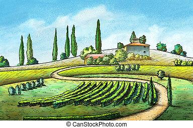 paese, paesaggio