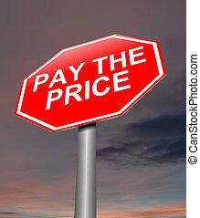 paga, concept., precio