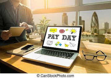 paga, día
