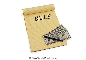 paga, planificación, su, cuentas