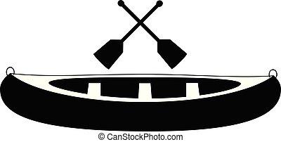 pagaia, canoa