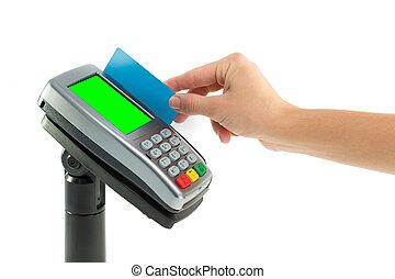 pagamento, carta credito