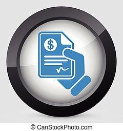 pagamento, documento