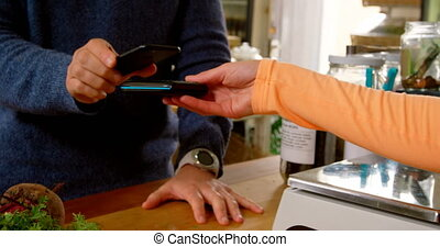 pagamento fabbricazione, sezione, cliente, contatore, 4k,...