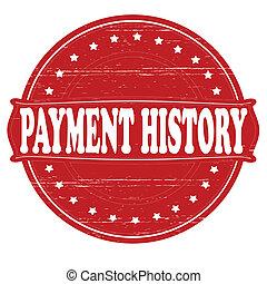 pagamento, história
