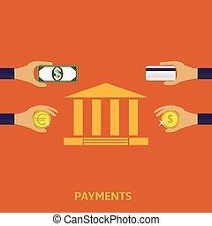 pagamento, métodos