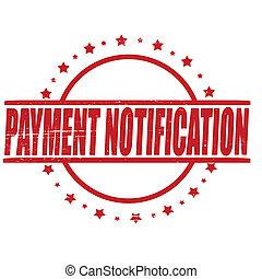 pagamento, notificação