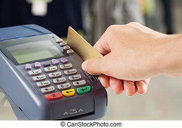 pagamento, per, beni
